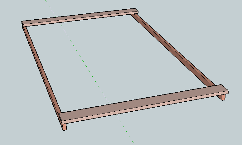 Pull-out Daybed components