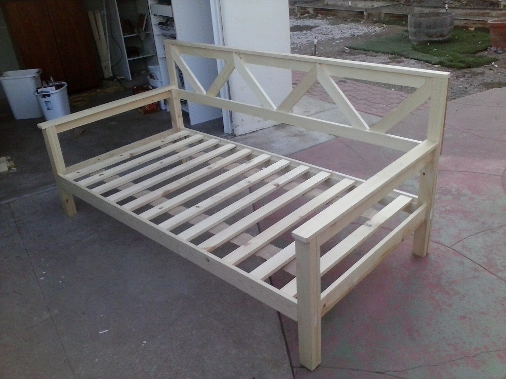 Daybed slats