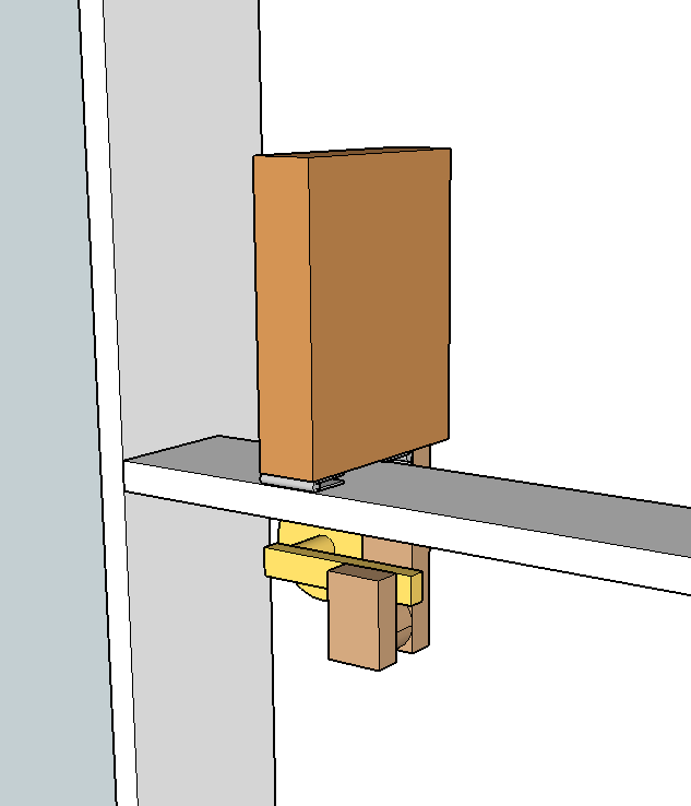 Hidden Latch Ana White Woodworking Projects