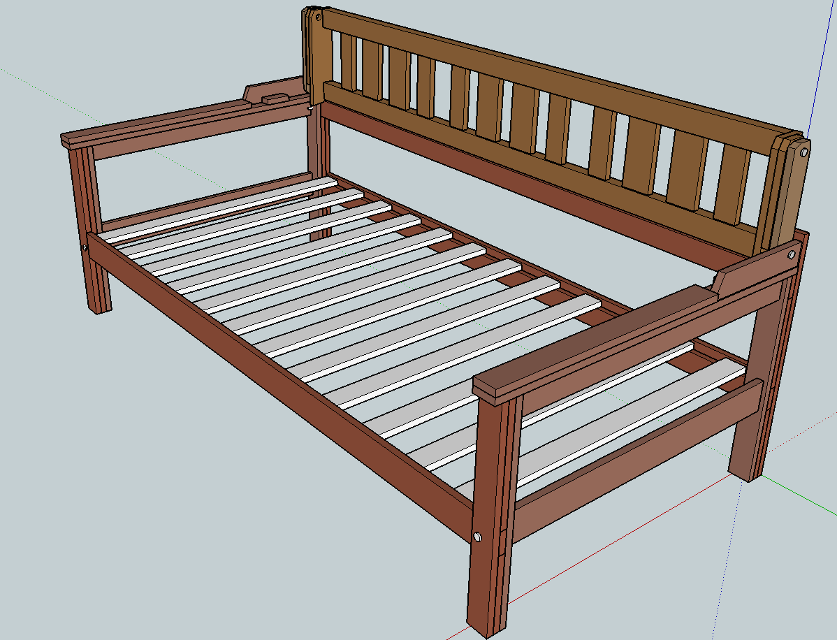 Daybed With Back Support Do It Yourself Furniture