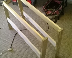 Daybed arm