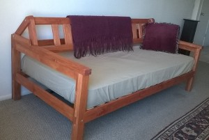 Daybed with Backrest